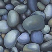 River Rocks Print by Natasha Denger
