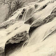 River Stream Art Print
