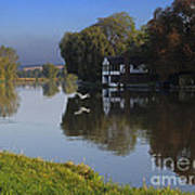 River Thames At Cookham Art Print