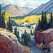River Valley Art Print