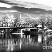 River View In New Hope Art Print