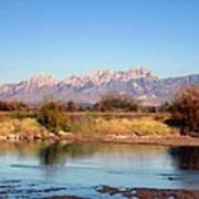 River View Mesilla Art Print