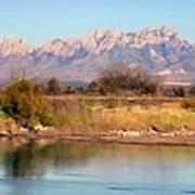 River View Mesilla Panorama Art Print