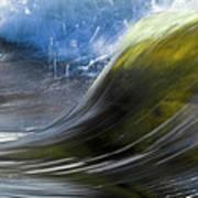 River Wave Art Print