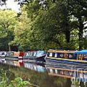 River Wey Navigation Art Print