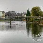 The River Kent At Kirkland In Kendal Art Print