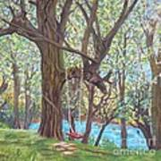 Riverside Art Print