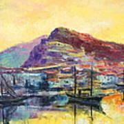 Riviera Di Ponente Art Print