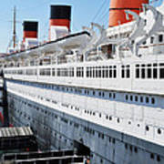 Rms Queen Mary Art Print