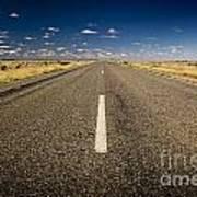 Road Ahead Art Print by Tim Hester