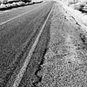Road In The Desert #1 Art Print