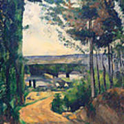 Road Leading To A Lake Art Print