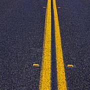 Road Stripe  Art Print