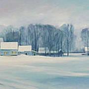 Road To Felchville Vermont Art Print