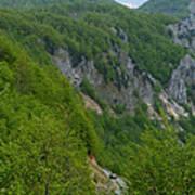 Road To Savnik - Montenegro Art Print