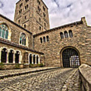 Road To The Gatehouse - In Color Art Print