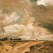 Road To The Spaniards. Hampstead Art Print