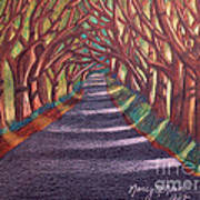 Road To The Unknown Art Print