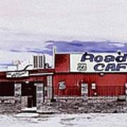 Roadkill Cafe Art Print