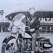 Roadking Of Vegas Art Print