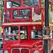 Roadmaster Double Decker 5261 Art Print