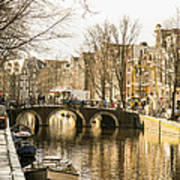 Roads Of Amsterdam Art Print