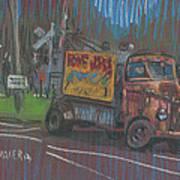Roadside Advertising Art Print
