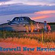 Roadside Attraction At Roswell Art Print