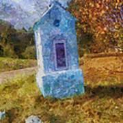 Roadside Shrine Art Print