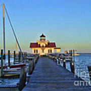 Roanoke Marches Lighthouse Art Print