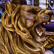 Roaring Lion Ride Art Print