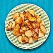 Roast Potatoes Art Print