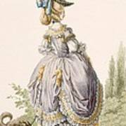 Robe De La Circassienne, Engraved Art Print