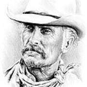 Robert Duvall Drawing By Andrew Read