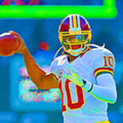 Robert Griffin IIi   Rg 3 Art Print