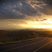 Robert Melvin - Fine Art Photography - Arizona Sunset Art Print