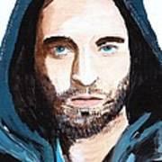 Robert Pattinson 128a Art Print