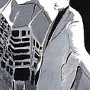 Robert Pattinson 129 Art Print