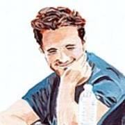 Robert Pattinson 130 Art Print
