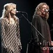 Robert Plant And Alison Kraus Art Print