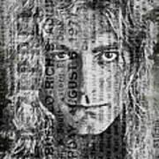 Robert Plant - Led Zeppelin Art Print
