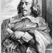Robert Van Voerst (1597-1635/36) Art Print