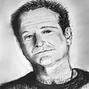 Robin Williams 2 Art Print