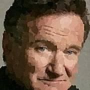 Robin Williams Portait Art Print