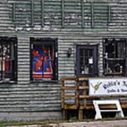 Robin's Nest Store In Autumn Michigan Usa Art Print