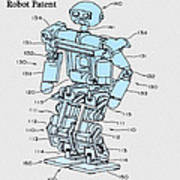 Robot Patent Art Print