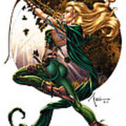 Robyn Hood 01h Art Print by Zenescope Entertainment