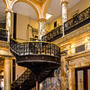 Rochester City Hall Stairs Art Print