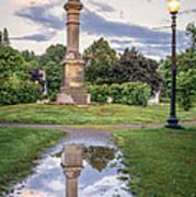 Rochester Reflection Art Print