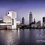 Rock And Roll Hall Of Fame - Cleveland Ohio - 2 Art Print